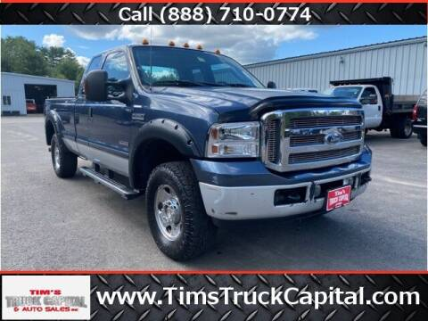 2005 Ford F-250 Super Duty for sale at TTC AUTO OUTLET/TIM'S TRUCK CAPITAL & AUTO SALES INC ANNEX in Epsom NH