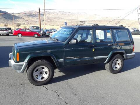 1999 Jeep Cherokee for sale at Super Sport Motors LLC in Carson City NV