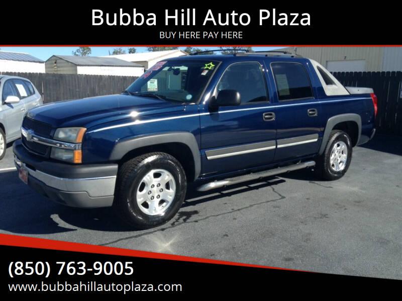 2004 Chevrolet Avalanche for sale at Bubba Hill Auto Plaza in Panama City FL