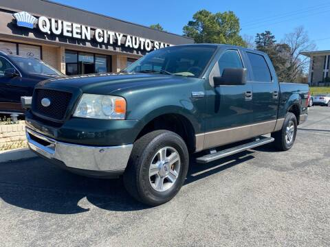 2006 Ford F-150 for sale at Queen City Auto Sales in Charlotte NC