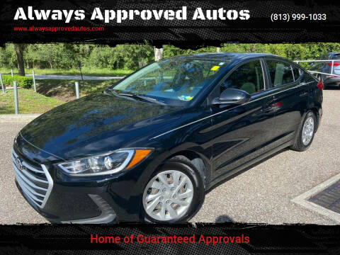 2017 Hyundai Elantra for sale at Always Approved Autos in Tampa FL