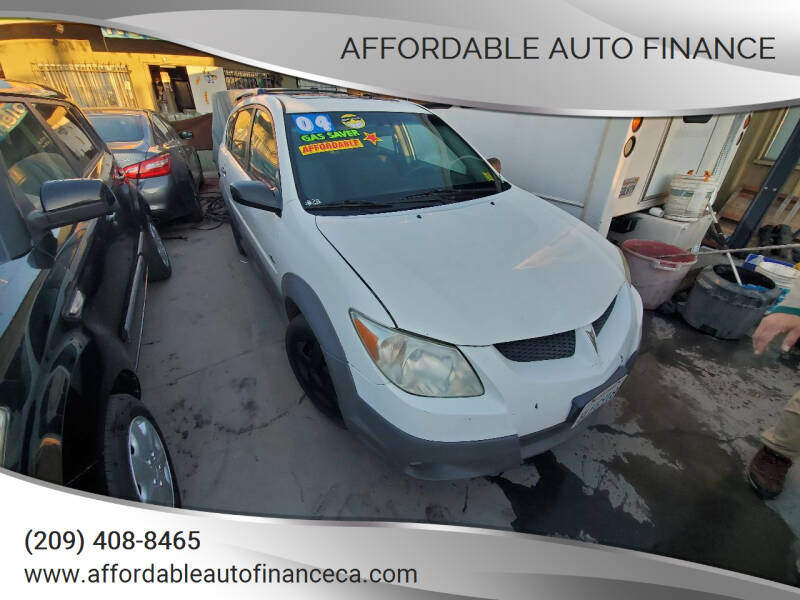 2004 Pontiac Vibe for sale at Affordable Auto Finance in Modesto CA