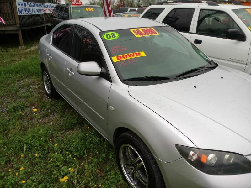 2008 Mazda MAZDA3 for sale at Finish Line Auto LLC in Luling LA