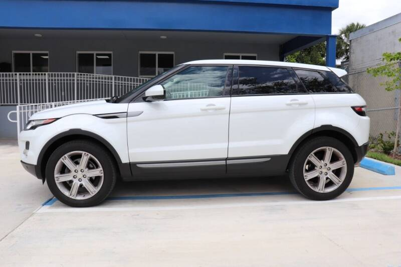 2015 Land Rover Range Rover Evoque for sale at PERFORMANCE AUTO WHOLESALERS in Miami FL
