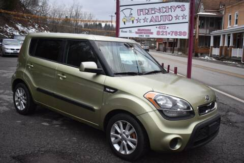 2013 Kia Soul for sale at Frenchy's Auto LLC. in Pittsburgh PA
