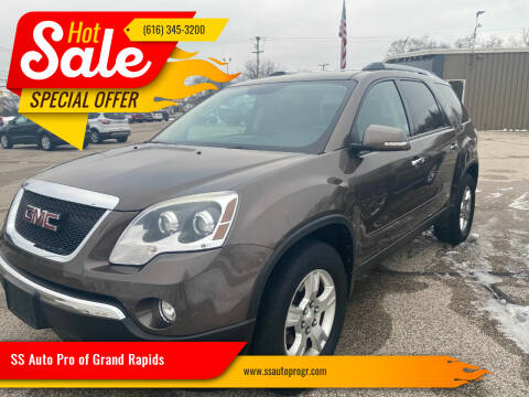 2011 GMC Acadia for sale at SS Auto Pro of Grand Rapids in Kentwood MI