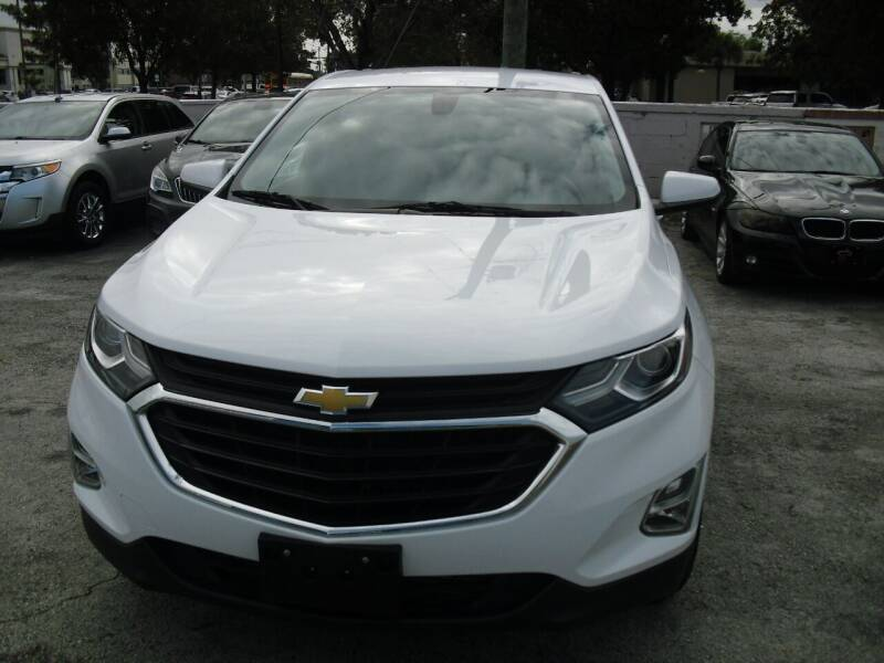 2018 Chevrolet Equinox for sale at SUPERAUTO AUTO SALES INC in Hialeah FL