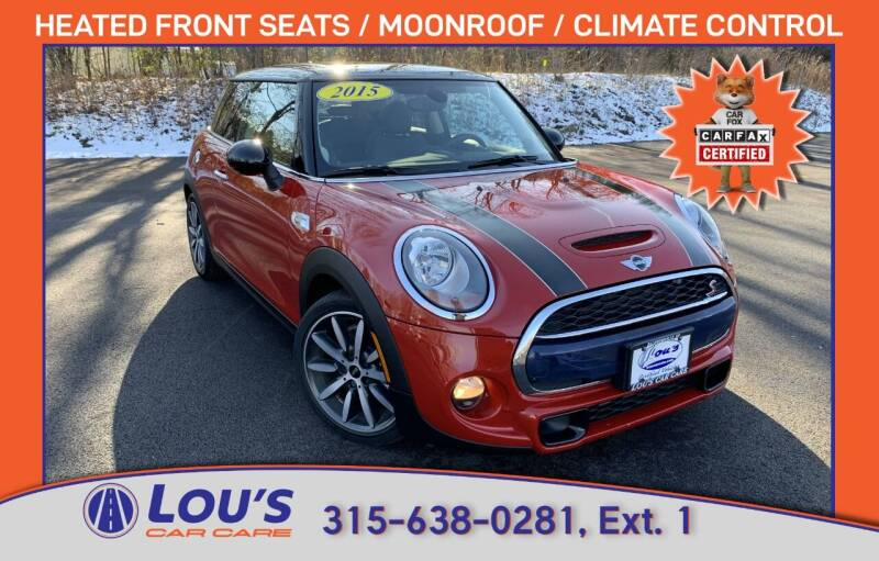 2015 MINI Hardtop 2 Door for sale at LOU'S CAR CARE CENTER in Baldwinsville NY