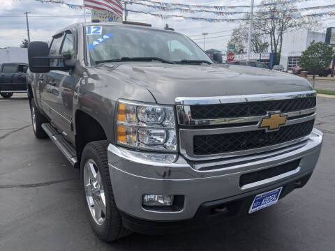 2012 Chevrolet Silverado 2500HD for sale at GREAT DEALS ON WHEELS in Michigan City IN