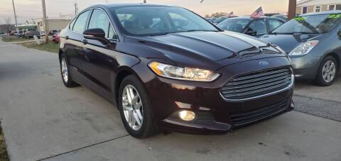 2013 Ford Fusion for sale at Wyss Auto in Oak Creek WI