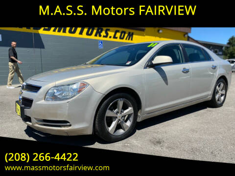 2011 Chevrolet Malibu for sale at M.A.S.S. Motors - Fairview in Boise ID