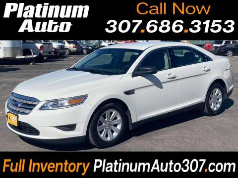 2012 Ford Taurus for sale at Platinum Auto in Gillette WY