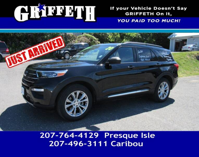 2020 Ford Explorer for sale at Griffeth Mitsubishi - Pre-owned in Caribou ME