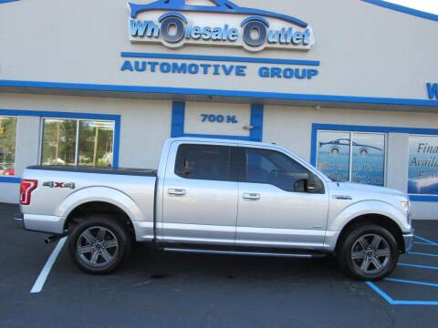 2015 Ford F-150 for sale at The Wholesale Outlet in Blackwood NJ