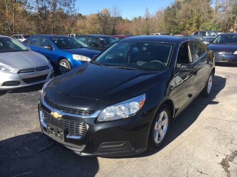 2014 Chevrolet Malibu for sale at Best Buy Auto Sales in Murphysboro IL