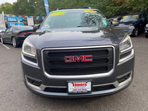 2013 GMC Acadia for sale at Elmora Auto Sales in Elizabeth NJ