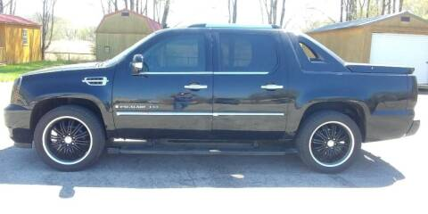 2009 Cadillac Escalade EXT for sale at ALL AMERICAN AUTO MART in Edwardsville KS