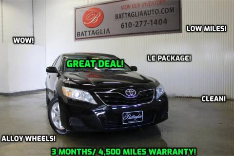 2011 Toyota Camry for sale at Battaglia Auto Sales in Plymouth Meeting PA