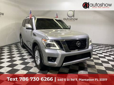 2017 Nissan Armada for sale at AUTOSHOW SALES & SERVICE in Plantation FL