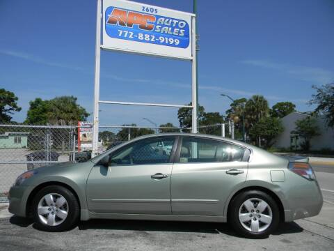2007 Nissan Altima for sale at APC Auto Sales in Fort Pierce FL