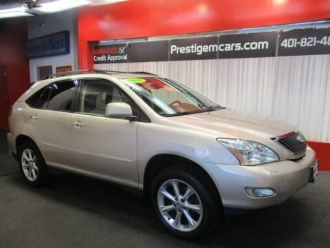 2008 Lexus RX 350 for sale at Prestige Motorcars in Warwick RI
