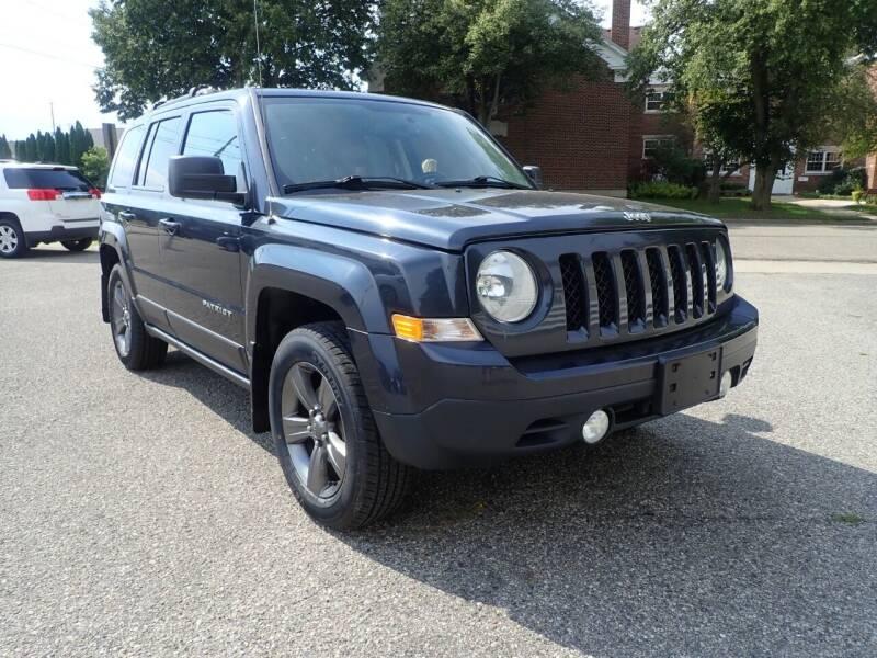 2015 Jeep Patriot for sale at Marvel Automotive Inc. in Big Rapids MI