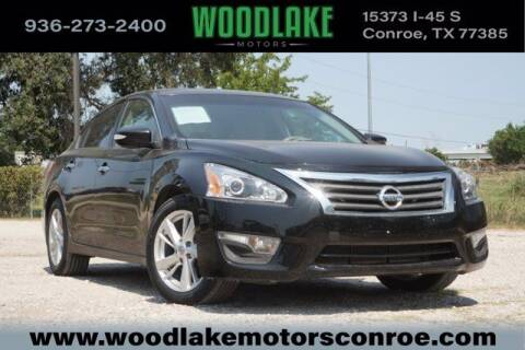 2013 Nissan Altima for sale at WOODLAKE MOTORS in Conroe TX