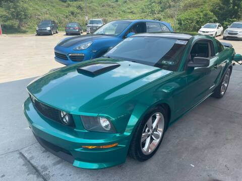 2007 Ford Mustang for sale at Trocci's Auto Sales in West Pittsburg PA