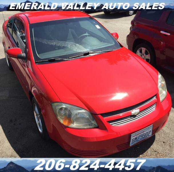 2008 Chevrolet Cobalt for sale at Emerald Valley Auto Sales in Des Moines WA