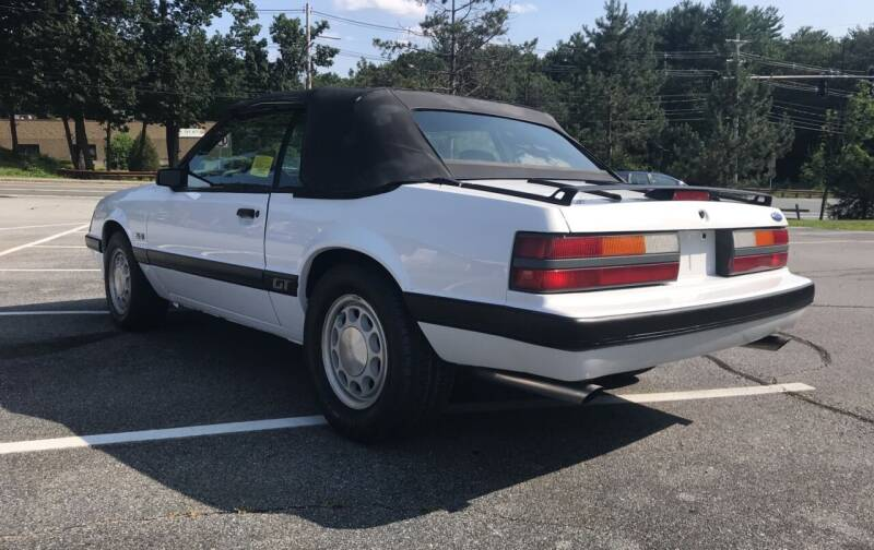 1986 Ford Mustang GT 2dr Convertible - Westford MA
