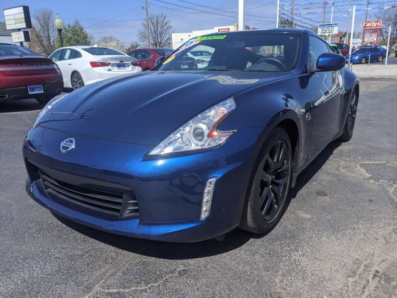 2016 Nissan 370Z for sale at GREAT DEALS ON WHEELS in Michigan City IN