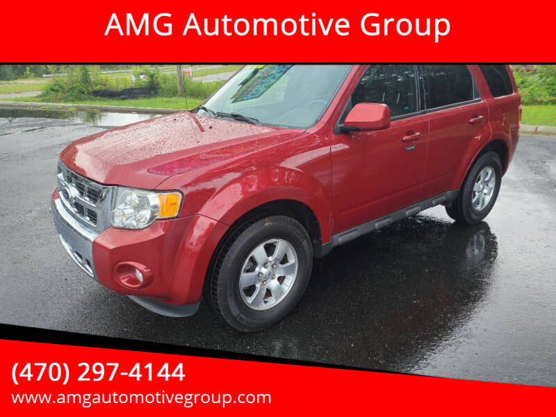 2011 Ford Escape for sale at AMG Automotive Group in Cumming GA