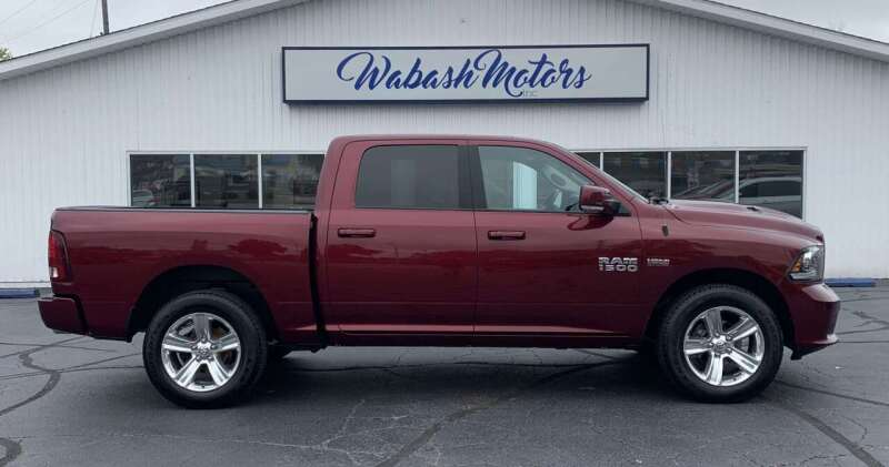 2017 RAM Ram Pickup 1500 for sale at Wabash Motors in Terre Haute IN