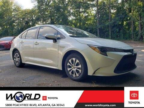 2021 Toyota Corolla Hybrid for sale at CU Carfinders in Norcross GA