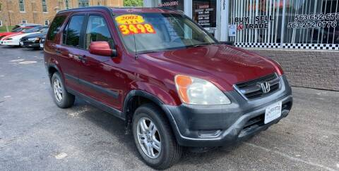 2002 Honda CR-V for sale at KUHLMAN MOTORS in Maquoketa IA