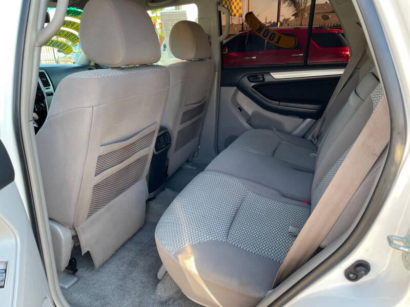 2007 Toyota 4Runner SR5 4dr SUV V6 - Pacoima CA