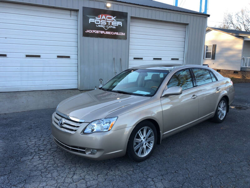 2007 Toyota Avalon for sale at Jack Foster Used Cars LLC in Honea Path SC