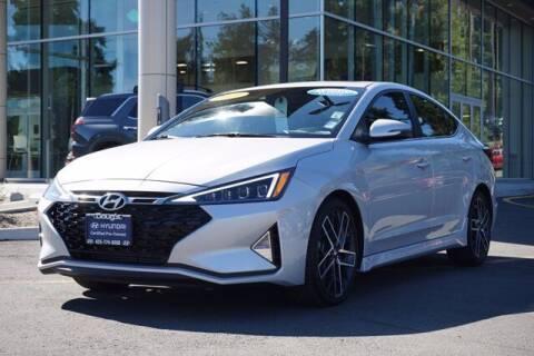 2019 Hyundai Elantra for sale at Jeremy Sells Hyundai in Edmonds WA