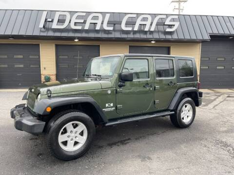 2009 Jeep Wrangler Unlimited for sale at I-Deal Cars in Harrisburg PA