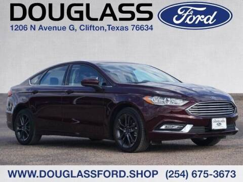 2018 Ford Fusion for sale at Douglass Automotive Group - Douglas Ford in Clifton TX