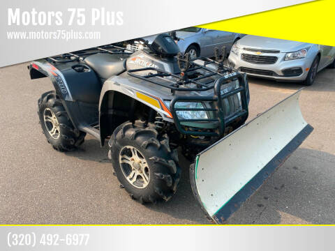 2012 Arctic Cat IGT for sale at Motors 75 Plus in Saint Cloud MN