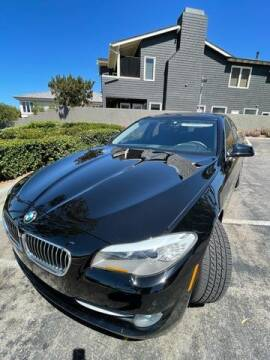 2012 BMW 5 Series for sale at DNZ Auto Sales in Costa Mesa CA