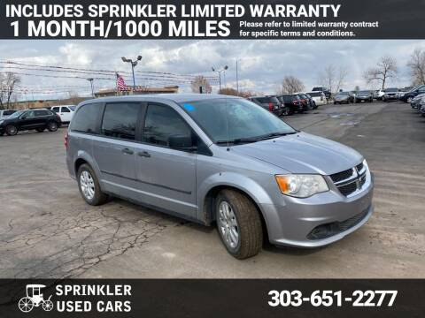 2014 Dodge Grand Caravan for sale at Sprinkler Used Cars in Longmont CO