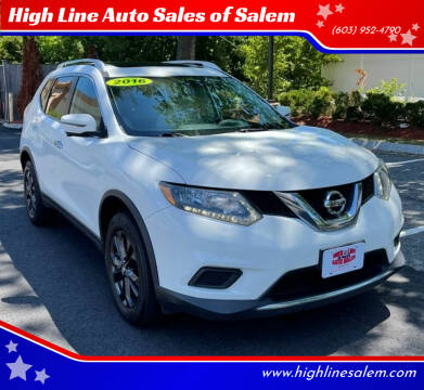 2016 Nissan Rogue for sale at High Line Auto Sales of Salem in Salem NH