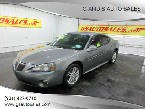 2007 Pontiac Grand Prix for sale at G and S Auto Sales in Ardmore TN