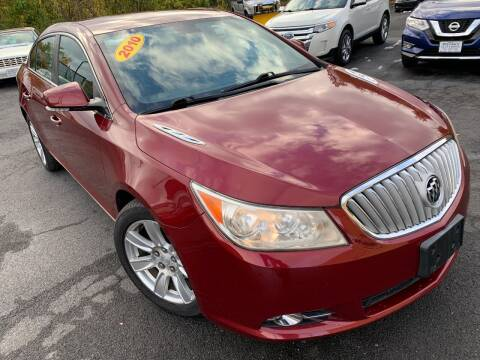 2010 Buick LaCrosse for sale at Bob Karl's Sales & Service in Troy NY