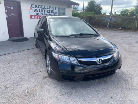 2011 Honda Civic for sale at Excellent Autos of Orlando in Orlando FL