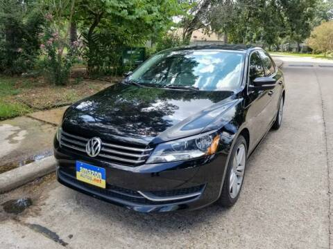 2014 Volkswagen Passat for sale at Amazon Autos in Houston TX