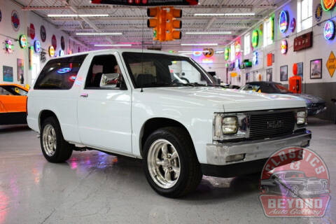 1988 GMC S-15 Jimmy for sale at Classics and Beyond Auto Gallery in Wayne MI