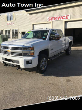 2017 Chevrolet Silverado 2500HD for sale at Auto Town Inc in Brentwood NH